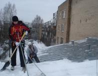 услуги промышленных альпинистов зимой
